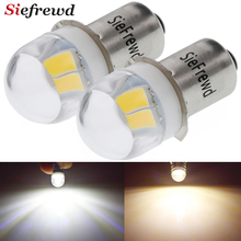 2Pcs P13.5s PR2 LED Bulb 3V 4.5V 6V DC 5630 2 SMD White/Warm White Miniature Light Replace For Torch Flashlight Bicyle Work Lamp