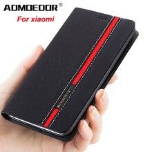 xiaomi mi6 mi 6x Case Ultra thin Leather flip cover for xiao