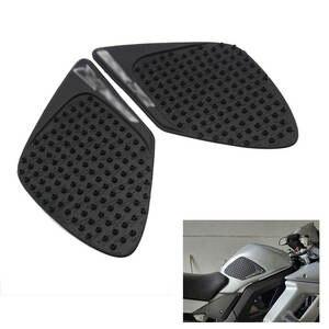 universal para Suzuki Honda rojo aspecto de carbono Protector para dep/ósito negro