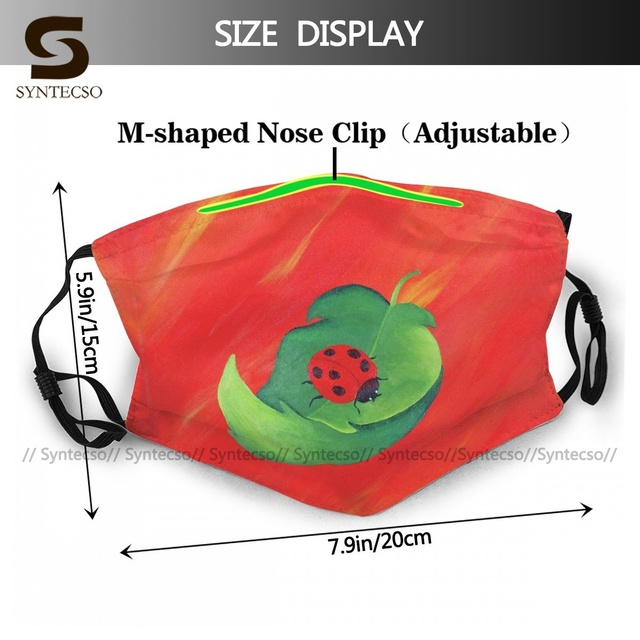 Unisex Fantasy A Little Cup Of Luck Facial Mask Sublimation Printed Bike Cloth Face Mouth Mask With Filters 1