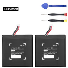 2Pcs HAC-003 Batterij Vervanging Reparatie Voor Nintend Nitendo Switch Console 2017 Game Console HAC-001 Interne Upgrade 4310Mah