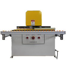 Small Trimmer Semi-automatic Desktop Top And Bottom Double-sided Curved Straight Line Trimming Machine  Woodworking Equipment