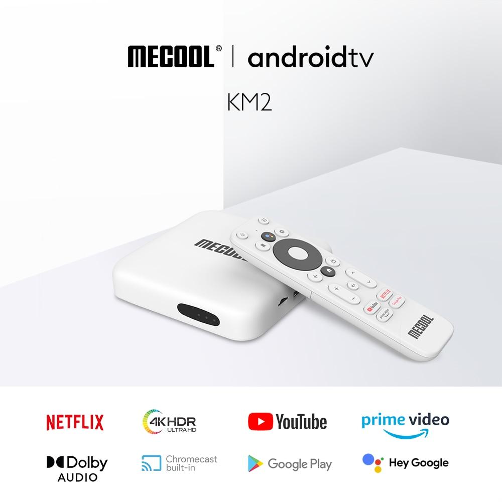 El mejor Android TV con certificación Netflix 4K - Mecool KM2 review