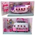 Оригинальные куклы LOL Surprise, игрушки, самолет, фигурки OMG, автомобили, оригиналы, кукольный домик, ролевая игра, игрушка для девочек, Рождестве...
