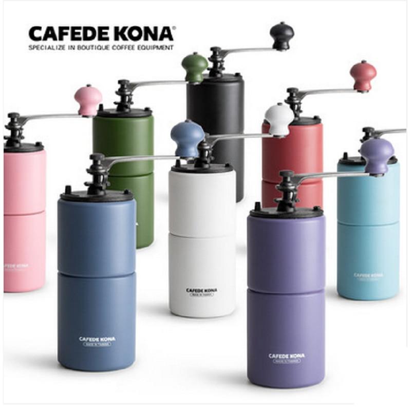 CAFEDE KONA Multicolor Coffee Grinder Coffee Beans Grinding Powder Maker