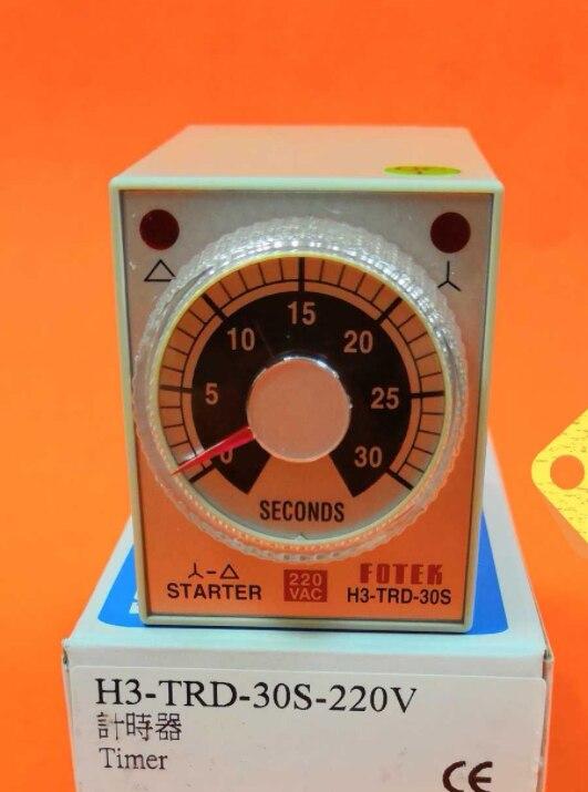 Taiwan Yangming Fotek Temporizador H3-trd-30s-220v