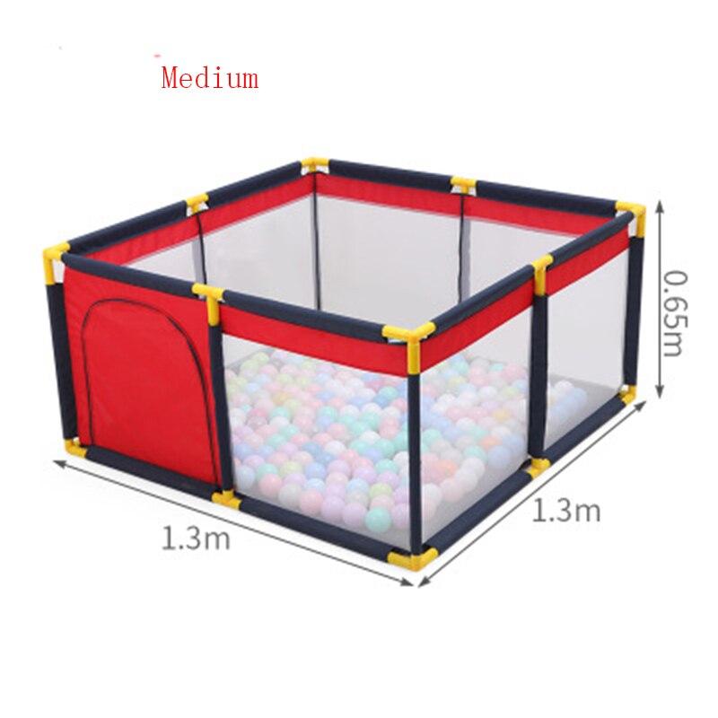 0-6 ans bébé parc pour enfants sécurité Portable clôture Stable balle fosse parc pour bébé barrière barrières 3 tailles parc intérieur