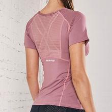 Новинка 2020 Спортивная футболка Женская эластичная быстросохнущая