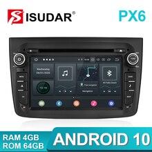 Isudar 1 Din araba multimedya oynatıcı Android 9 Alfa Romeo Mito 2008 CANBUS otomobil radyosu dört çekirdekli Video DVD GPS sistemi USB DVR