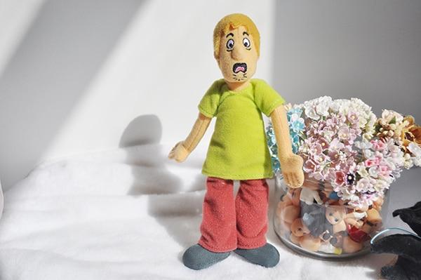 Cute Cartoon Scooby Doo Fred Puppet Stuff Plush Toy Children Birthday GiftDolls & Stuffed Toys