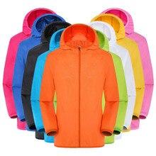 Hawcoar Men's Women Casual Jackets Windproof Ultra-Light Rainproof Windbreaker T