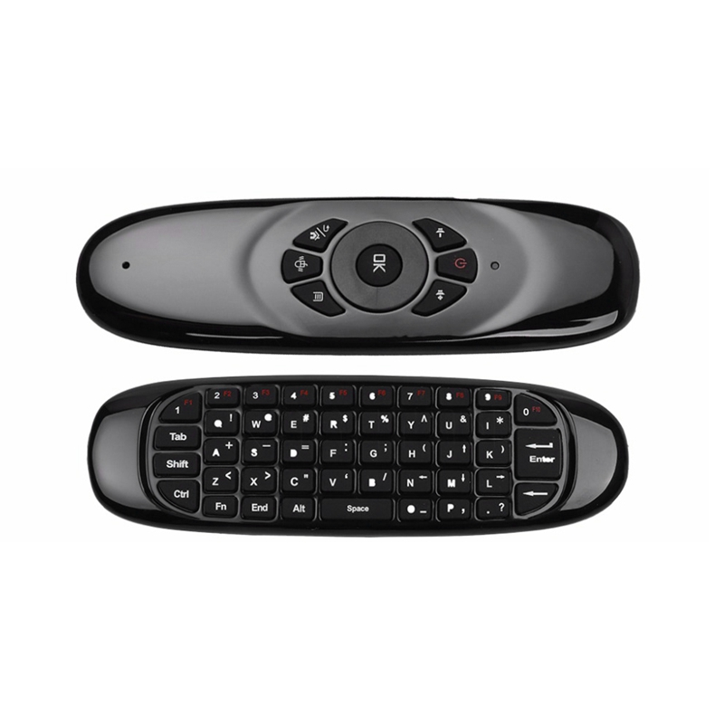 2.4G Air Mouse Wireless Keyboard Remote Control for Android TV Box Computer English Version 6 Axes Gyroscope