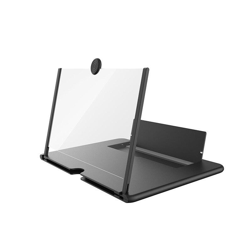 Телефон усилитель экран Лупа высокой четкости 12 дюймов функция усиления экран с увеличительным складной телефон Настольный держатель