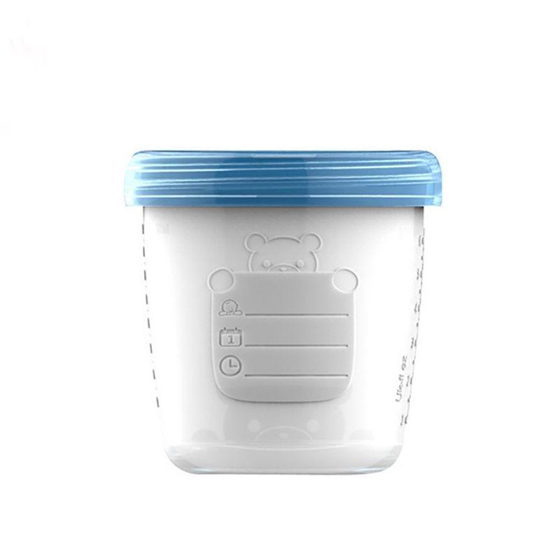 2021 New 180ml Baby Breast Milk Storage Bottle Infant Newborn Food Freezer Container Milk Powder Nuts Tea Organizer