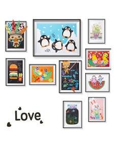 DIY Creative Craft-Kit Children Toys Manual-Painting-Sticker Gift Animal Kindergarten