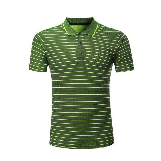 Профессиональная быстросохнущая рубашка для игры в бадминтон для мужчин и женщин, теннисная футболка s, спортивная рубашка поло для гольфа, футболка для пинг-понга-3
