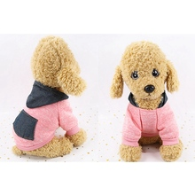 Winter Warm Coat Dog Sweater Christmas Clothes Classic Hoodies Fleece Pet Soft For Small Dogs