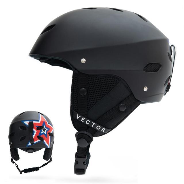 CE Certification Helmet Man Women Snowboard Snowmobile Ski Adult Windproof Skateboard Snow Sports Cycling Helmets Suit Goggles
