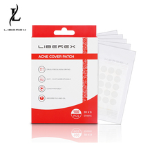 Liberex 100 Patches Acne Pimple Healing Patch Treatment Invisible Skin Tags Stickers Hydrocolloid Cover Remover Facial Spot Scar