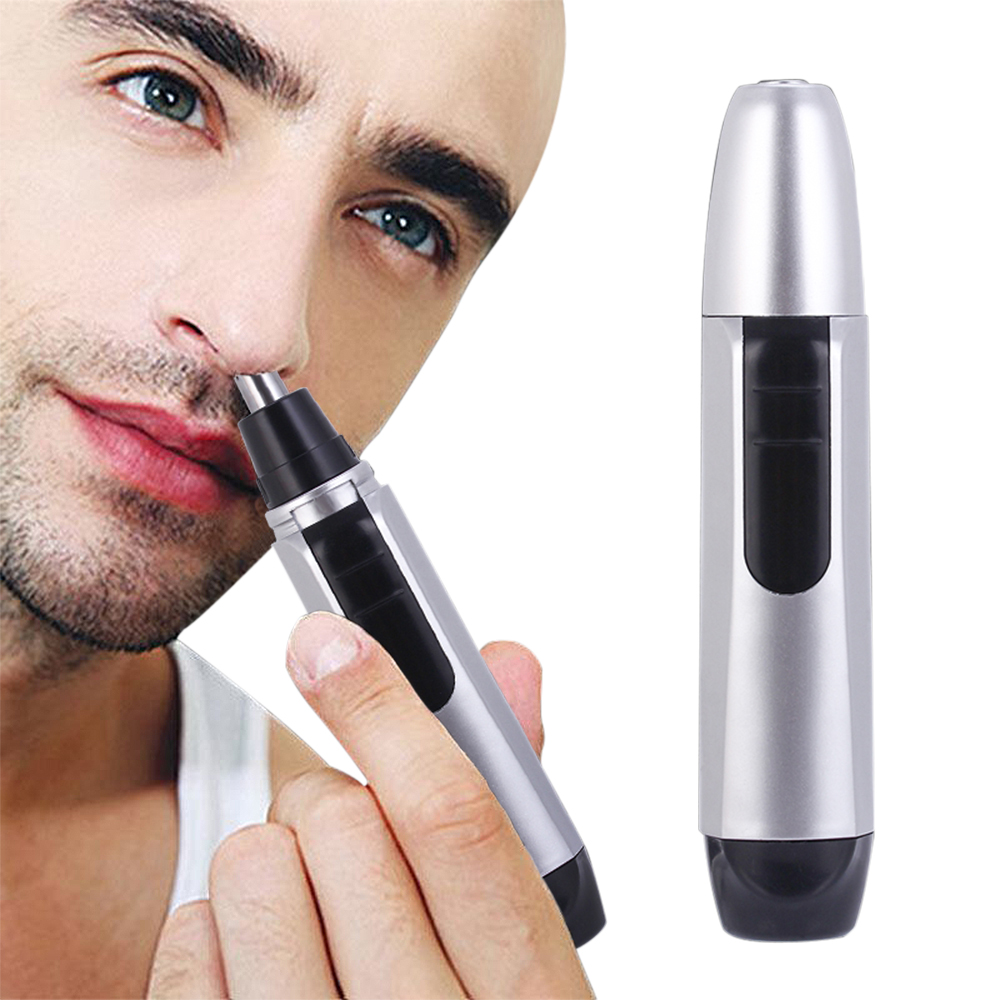 Electric Shaving Nose Ear Trimmer Safety Facial Care Nose Hair Trimmer Men Shaving Hair Removal Razor Beard Cleaning Machine