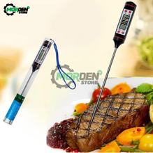 LCD Digital Thermometer Food Thermometer Milk Meat Cooking Tools Pen-type Food Probe For Kitchen Barbecue with Digital Probe