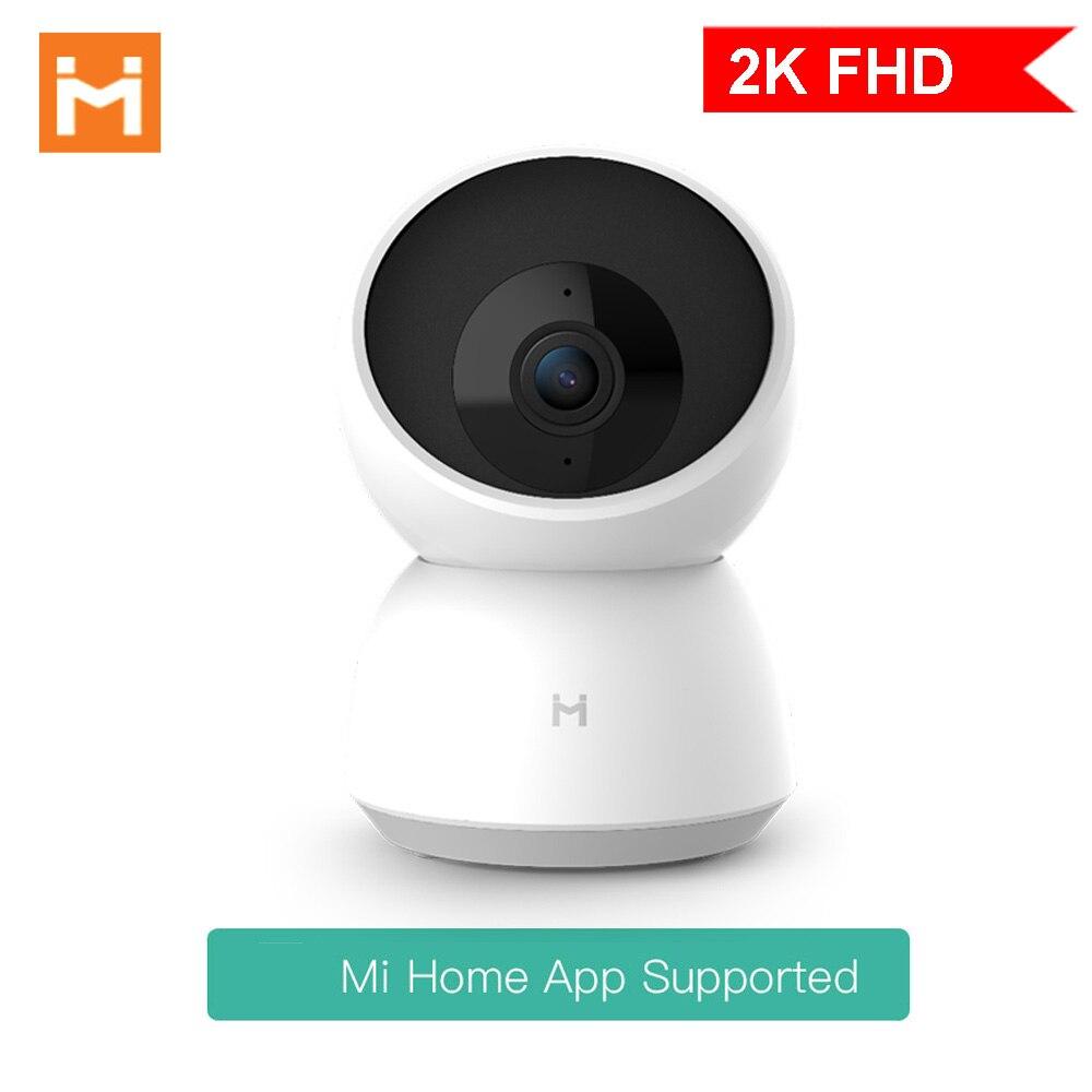 Смарт-Камера Xiaomi 2K, 1296P, 360 градусов, HD, WIFI, инфракрасная камера ночного видения, видео камера, радионяня, 2020