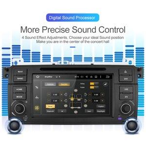 Image 2 - Isudar 1 Din Автомобильный мультимедийный плеер Android 10 GPS Авторадио Стерео система для BMW/E46/M3/Rover/3 серии RAM 4G ROM 64GB fm радио