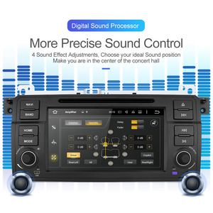 Image 2 - Isudar 1 Din coche reproductor Multimedia Android 10 Autoradio GPS sistema estéreo para BMW/E46/M3/Rover/3 de serie RAM 4G ROM 64GB FM Radio