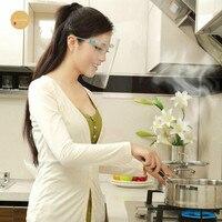 Gesicht Schutz Maske Küche Kochen Arbeit Sicherheit Malerei Gesicht Schutz Küche Öl-Splash Proof Maske Zwiebel Brille Staub-beweis