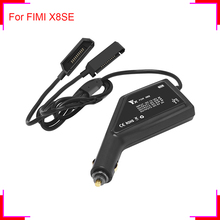 Drone Battery Car Charger for FIMI X8 SE Camera Drone Remote Controller Charger for FIMI RC