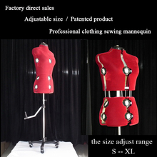 Sewing-Mannequin Clothing Adjustable-Size DIY Professional Factory Hot-Selling New-Style