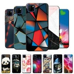 Para huawei honor 9s caso silicone macio tpu telefone capa para huawei y5p legal moda padrão capa protetora caso pára-choques 5.45
