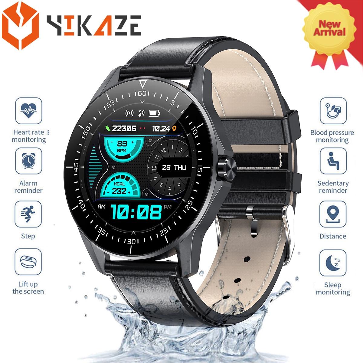 Smart Watch For Huawei  Apple Xiaomi Bluetooth Call reminder smartwatch Men IP68 Waterproof Fitness watch sport Smart watch 2021 1