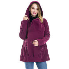 Get more info on the Sweatshirt Maternity Coats Winter Jacket for Pregnant Women   Hoodie Women Casual Long Zipper Hooded Jacket Hoodies