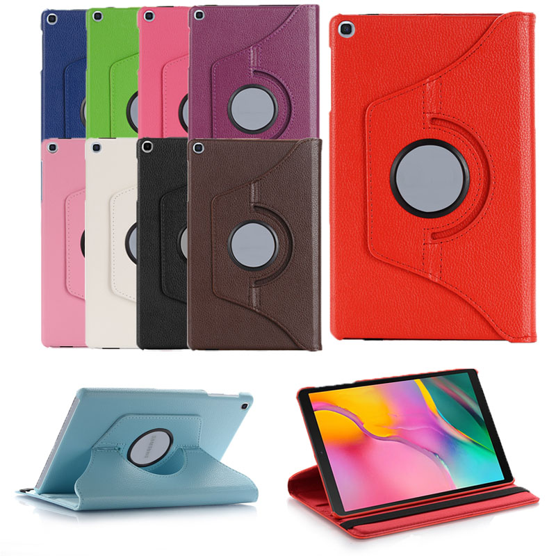 New Coque For Samsung Galaxy Tab A 8.0 2019 SM-T290 T295 T297 Case 360 Rotation Smart PU Case For Samsung Tab A 8.0 T290 Cover