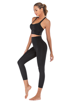 Naked-Feel Yoga Set Yoga Leggings Set Women Fitness Suit For Yoga Clothes High Waist Gym Workout Sportswear Gym Sports Clothing 11