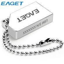 EAGET U8M Mini USB 2,0 64GB USB-Stick Stick 16G 32G Wasserdicht USB Disk Metall Tragbare thumb Drive