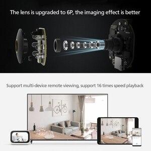 Image 5 - 새로운 원본 Xiaomi Mijia 스마트 IP 카메라 2K 360 각도 비디오 와이파이 나이트 비전 무선 웹캠 보안 캠보기 베이비 모니터