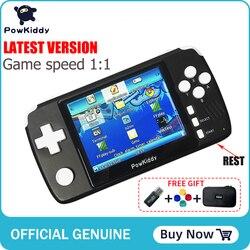 Consola de videojuegos Retro Powkiddy q80 3,5 pulgadas pantalla IPS integrada 1000 + sistema de juegos abierto PS1 simulador 16G memoria nuevos juegos