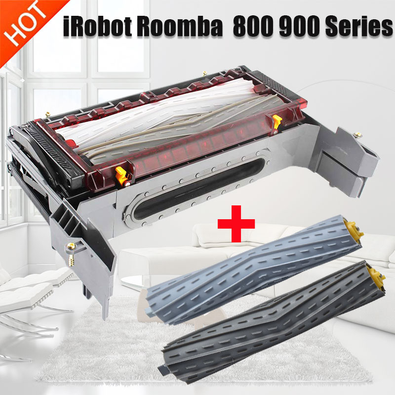 Main roller brush Cleaning Head Module for iRobot Roomba 870 880 980 800 ALL Series vacuum cleaner parts accessories-in Vacuum Cleaner Parts from Home Appliances