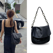 Fashion Acrylic Strap Woman Shoulder Bags Famous Brand Luxury Handbags Women Bags Designer High Quality PU Totes Women Black Bag цена в Москве и Питере