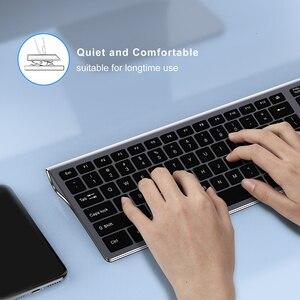 Image 5 - SeenDa Thin 2.4G Wireless Keyboard for Laptop Desktop Scissors Switch Keyboard for Windows Mac OS Full Size 109 Keys Keyboard