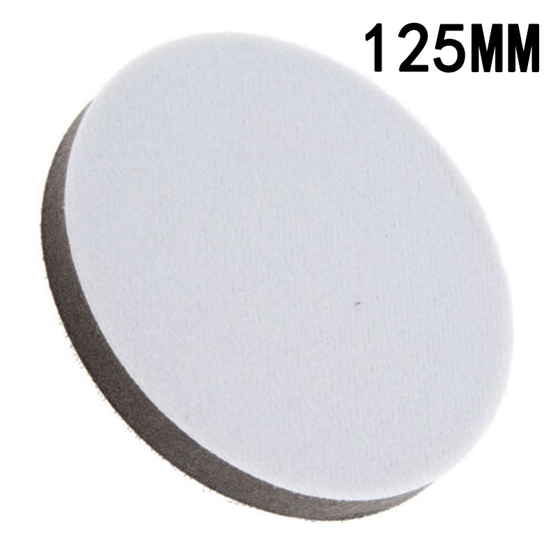 Accessory Interface Pad Sponge 125mm Sanding Parts Spare Hook And Loop Soft Indoor/outdoor
