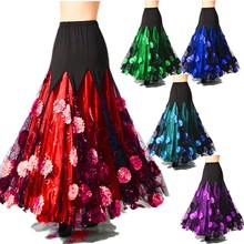 Gypsy Costume Skirt Bellydance Costume Skirts Oriental Belly Skirt Belly Dance Waltz Indian Ballroom Dancing Luxurious Adult