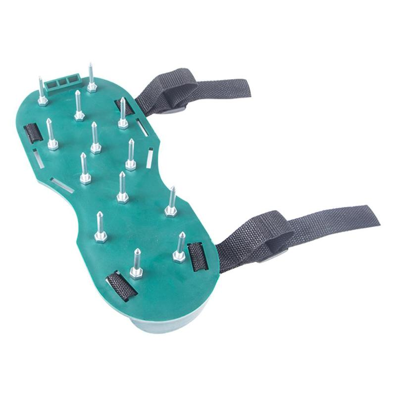 1 Pair Garden Yard Grass Cultivator Scarification Lawn Aerator Nail Shoes For Lawns Gardens Courtyards Terraces