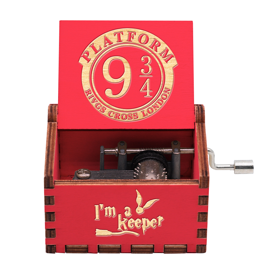 NEW Music Box QUEEN Lots Of Styles Jurassic Park Wooden Hand Christmas Birthday Valentine's Day Gift New Year Gift 2