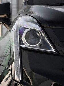 Image 5 - 자동차 헤드 라이트 렌즈 캐딜락 XT5 2016 2017 2018 헤드 램프 커버 교체 자동 쉘 밝은 램프 그늘 쉘 캡 갓