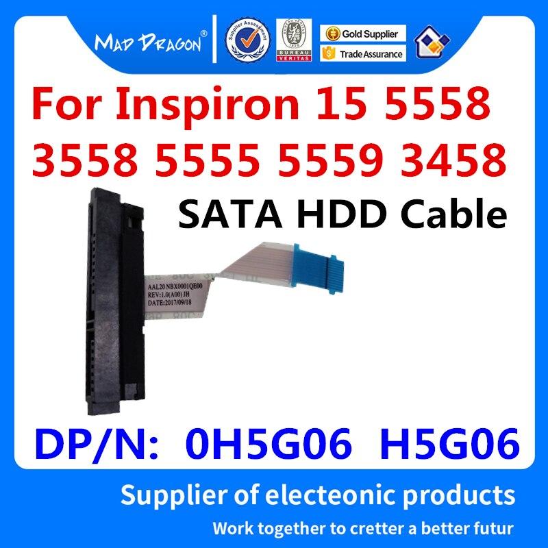 Разъем для жесткого диска SATA, гибкий кабель для Dell Inspiron 5558 5555 5559 Vostro 3558 3458 3459, кабель для жесткого диска ноутбука 0H5G06 H5G06