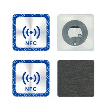 Token-Label Anti-Metal-Sticker Badges Ntag213-Tags NFC Smart for Mobile-Phones 6PCS Universal