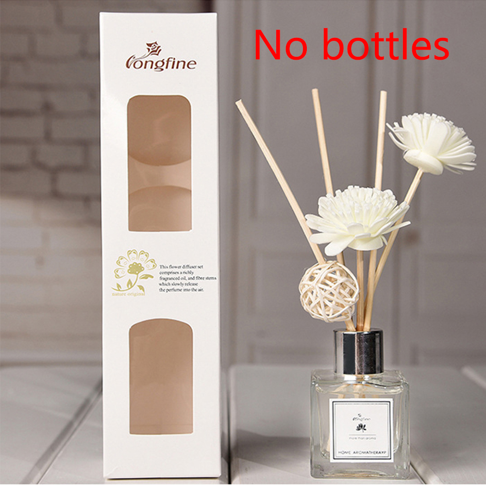 (No Bottle) Aroma Diffuser Set Portable Exquisite Aromatherapy No Fire Rattan Sticks Relieve Stress Fragrance Office Home Decor